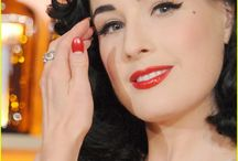 Dita! / the Unique, Stylish & Beautiful Dita Von Teese. / by Gina Cuevas