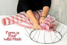 Wreath tutorial / by Maria Bertrand