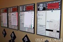 Organizing ideas / by Holly Wimberley