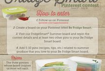 """""""Be Fridge Smart"""" / Check out the Tupperware """"Fridge Smart"""" containers and salad recipes / by Diane Watt Spilde"""
