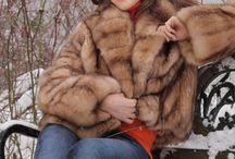 Sable Fur Coats / by Jip De Groot