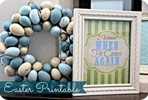 Blue Skies Ahead Easter Fun! / by Tonii Johnson