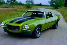 Classic Cars: Chevrolet Camero / by Colleen Owens