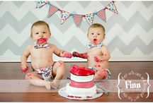 1st Birthday Ideas / by Lisa TwinHappy-ivf