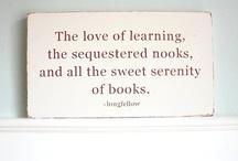 Libraries / Words. Sentences. Paragraphs. Chapters. Books. / by Fran Ferrari