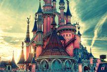 Disney Castles / by Kimberly Hamner