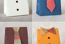 DIY Packaging Ideas / Dress Up a package - gift giving made pretty! / by Patty Bennett