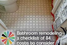 Bathroom Remodel / by Michelle Bologna