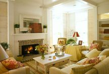 Living Room. / Office, Living and Family Rooms / by Pamela Fosse