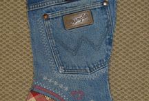 Old jeans / by Diane Stokes