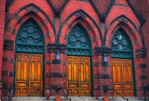 Church Doors / Practical and Beautiful Ways to Enter Church / by Church Social Media #chsocm