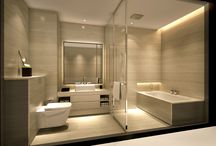 Bathrooms / by Ashley Russell