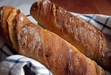 Mňamoty - chlieb a pečivo / by Zuzka Patkoloova Cedulova