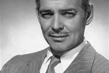 MY GABLE, C.  2/1/1901-11/16/1960 / Actor. Best known for his portrayal of Rhett Butler in Gone With The Wind. Cause of death: Coronary thrombosis after suffering a heart attack. / by bob spear
