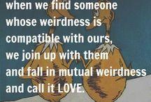Mutual Weirdness / by Rabbit Ridge Farm (Jordan Charbonneau)
