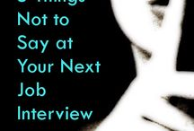 Career wisdom / by Kristen Suiter