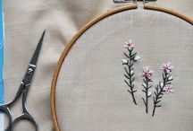 X stitch, knitting, hand work!  / by Jen Waltrip