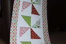 tablerunners / by Quilted Cottage