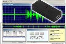 Voice/Audio Recorders - SpyChest.com / Voice Recorder and Audio Recorder / by Spy Chest