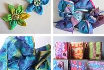 Dye, Paint, Batik Fabrics / by south