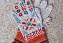 Folk knitting and stitching / by Karen Thompson