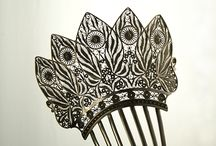 Combs   Clasps   Buckles / Hair ornaments, closure for clothing. If you enjoy hair ornaments, check out BarbaraAnne's Hair Comb Blog - it's amazing. / by Zoë Topia