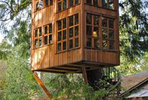 Tiny spaces & tree houses / by Caroline Crain
