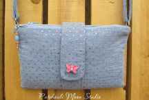 Butterfly Sling Purse by YOU / by Emmaline Bags & Patterns