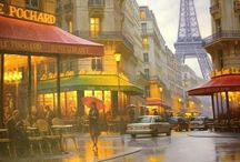 Paris ♥ / by Mamie Leonard