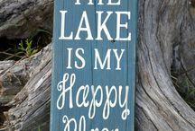 Lake living ❤ / by Linda Linscott