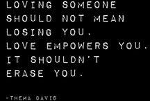 Quotes / by Hannah Ricks
