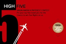 Virgin America High Five / by Virgin America