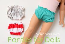 Doll stuff for my girls / by Melinda Greer from The6greers.com