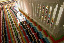 Stairways / by Kensington Button (Emily Tryson)
