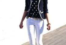 lookbook...white pants / outfits to emulate...or just because i like them. / by Tracy Decker