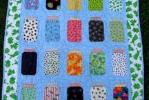 quilts and fabric arts / by Delena Levine