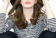 I love anne hathaway and everyine says i look like her. / by Sam Schuder