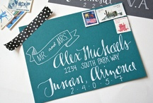 Calligraphy Inspirations / by Lauren Hainsworth