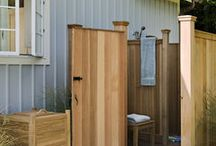 Outdoor Shower Ideas / by Margie Bailey