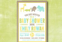 Jungle Themed Baby Shower / by One Swell Studio - Cara McGrady