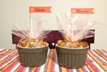 Thanksgiving Table / Tablescapes, place cards, centerpieces, and more! / by Mrs. Greene