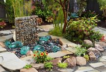 Garden fountains / by whimsigal