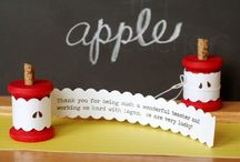 Teacher Appreciation ✎ / Teachers day homemade gift tutorials for teacher appreciation week including printable cards and creative and useful gifts for teachers. / by Laurie ~ Tip Junkie