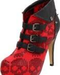 Iron Fist zombie goth shoes / by La Carmina