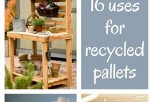 Pallet Projects / by Vickie Bailey