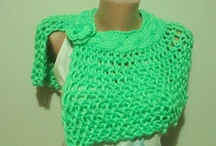 Hand Knit Shawl / by Nermin Ersen