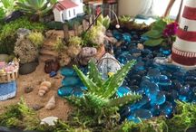 Gnome Homes and Fairy Gardens / by Teresa Ramsey