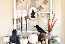 Fall/Halloween decor / by Jolene Scribner