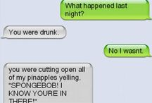 Funny Text messages / by Miranda Ann Wiley