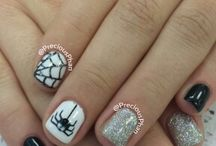 Halloween Nail Art / by All Lacquered Up